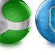 15 Rendered Glass Orb Social Media Icons - GraphicRiver Item for Sale