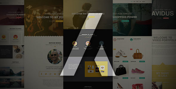 Avidus // Multipurpose Muse Template