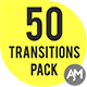 50 Alpha Matte Transitions Pack