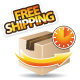 Free shipping icon - GraphicRiver Item for Sale