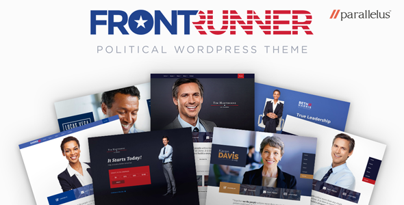 Political WordPress Theme - FrontRunner