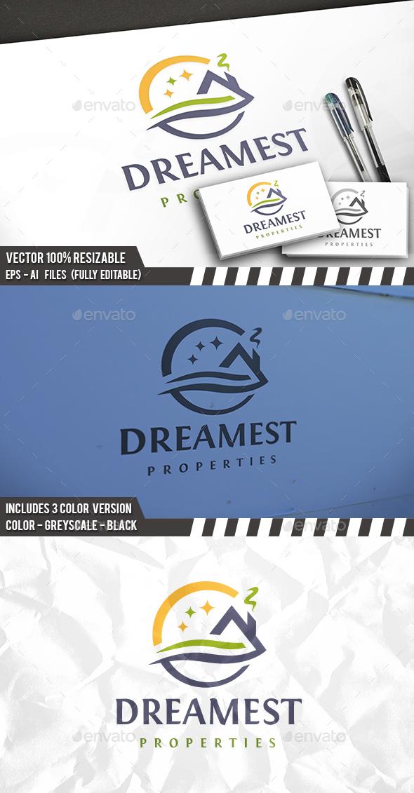 Dream Real Estate Logo