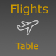 WP Airport Flights Table - CodeCanyon Item for Sale