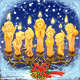Seven magical Christmas candle