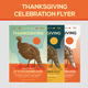 Thanksgiving Event Celebration Flyer