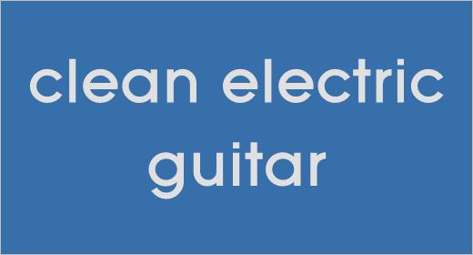 Clean Electric Guitar
