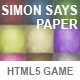 Simon Says Paper
