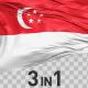 Singapore Flag Pack