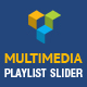 Visual Composer Addon - Multimedia Playlist Slider