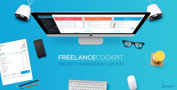Freelance Cockpit 3 - Project Management and CRM