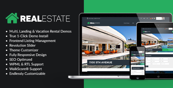 24 - WP Pro Real Estate 7 - Responsive Real Estate WordPress Theme