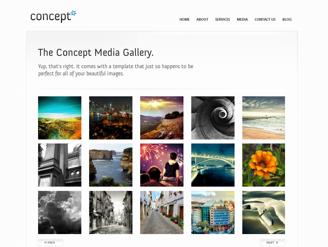 Concept (Wordpress) - A Premium WP Theme