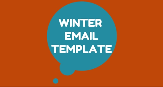 Winter Email Template