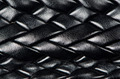 Black leather woven pattern - PhotoDune Item for Sale
