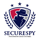 Spy Secure Logo Template