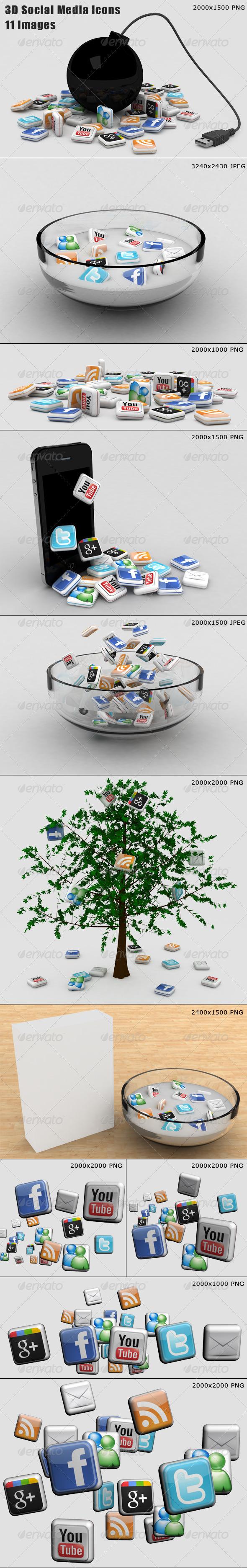 11 Social Media Illustrations