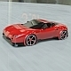 Red sports car concept vehicle