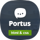 Portus - Responsive Blog & Magazine HTML Theme - ThemeForest Item for Sale