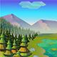 Fresh Game Background Emerald Lake