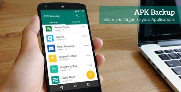 APK Backup - Android App 1.3