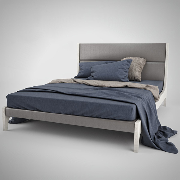 Bed Le Fablier Gallio - 3DOcean Item for Sale