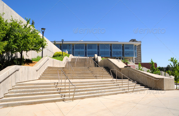 Campus Library at the University of Utah - Stock Photo - Images
