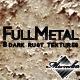 FullMetal - Dark rust textures - GraphicRiver Item for Sale