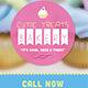 Cutie Treats Bakery Business Card
