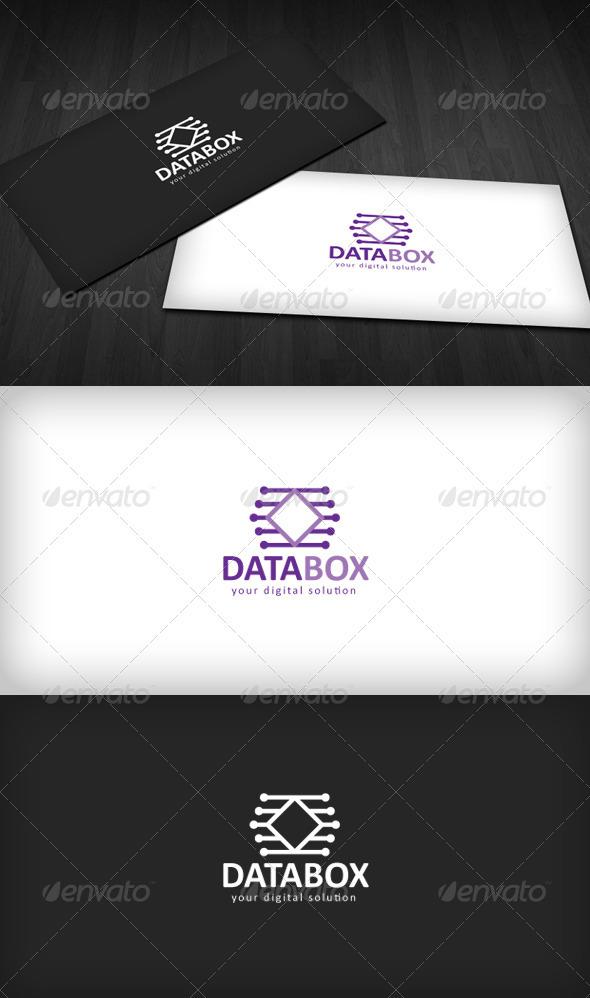 DataBox Logo - Vector Abstract