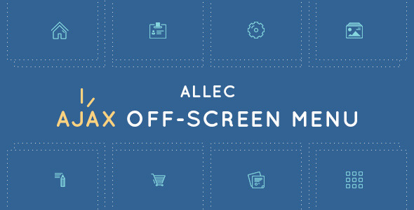 Allec AJAX Off-Screen Menu (Navigation) images