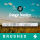 10 Grunge Overlay Brushes - Photoshop Brushes