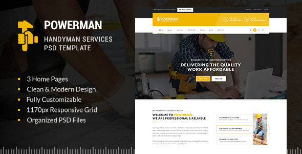 POWERMAN - handyman Services