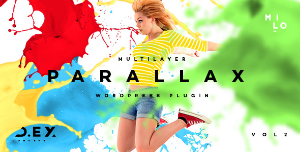 D.ex - Multilayer Parallax Wordpress Plugin - CodeCanyon Item for Sale