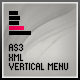 AS3 XML MENU [ VERTICAL ] - ActiveDen Item for Sale