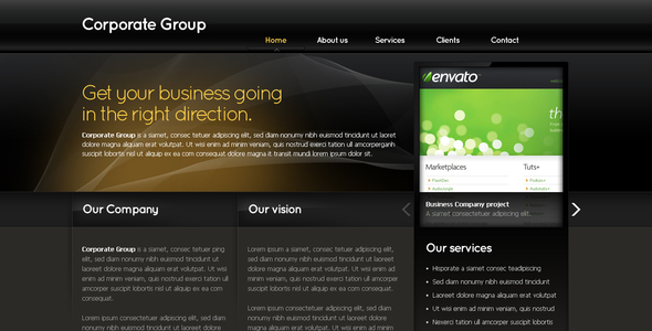 ThemeForest Business Template #03 53918