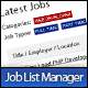 Job List Manager - CodeCanyon Item for Sale