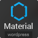 Material - Premium Magazine WordPress Theme