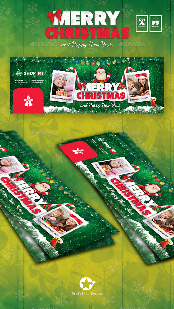 Christmas Cover Templates