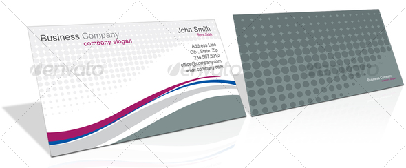 GraphicRiver Lines Business Cards 53934