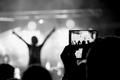 Phone shot a the Concert