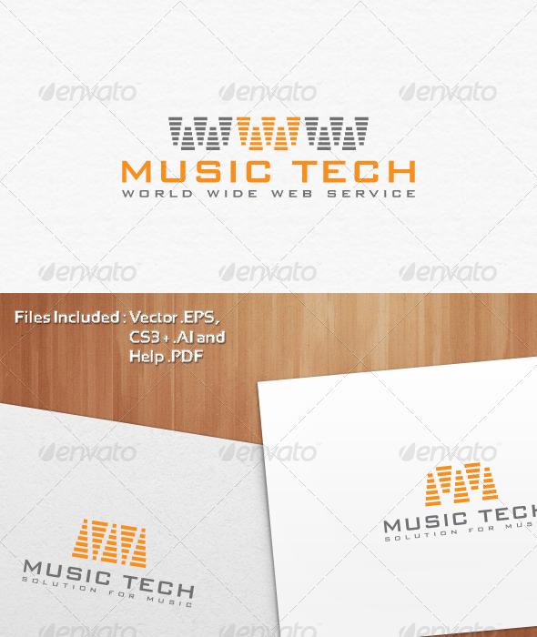 World Wide Music Tech Logo Design