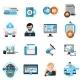 Blogging Icons Set