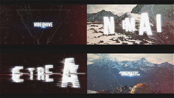 Epic Glitch Titles Trailer