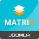 Matrix - Responsive VirtueMart Joomla Template