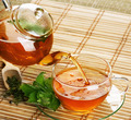 Healthy Tea With Mint