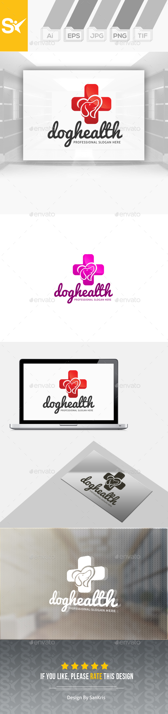 Dog Health Logo