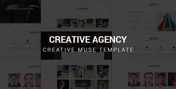 Creative Agency - Muse Template
