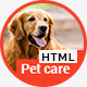 Pet Care - Veterinary HTML Template - ThemeForest Item for Sale