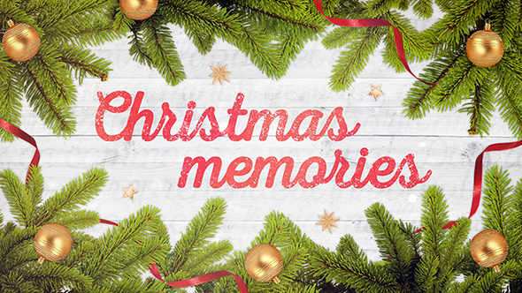 FREE After Effects Template - Christmas Memories