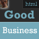 Good Business - Premium Clean Business Template - ThemeForest Item for Sale